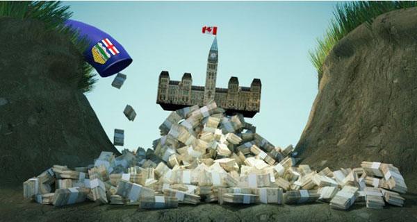 Alberta contribution to Confederation