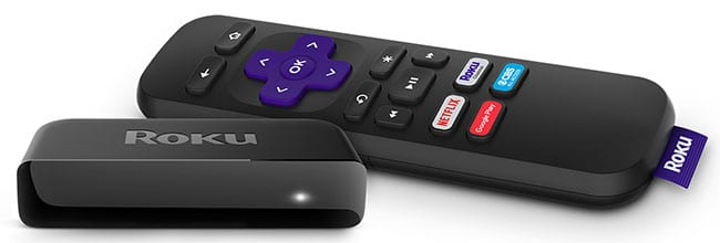 Roku gives you access to 1000s of TV shows movies and more