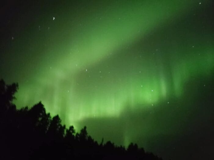 Northern Lights putting on a show