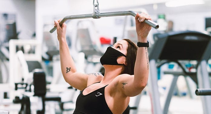 Protective masks found to be safe for moderate and heavy exercise