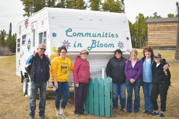 Communities in Bloom Installs First Project of 2021
