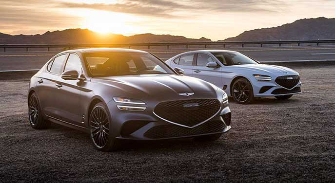 Genesis G70 is a top-drawer copycat sedan, nanny features and all