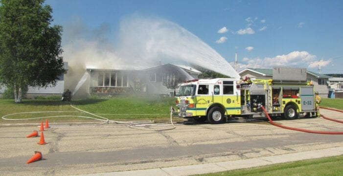 Fire Department Responds To House Fire