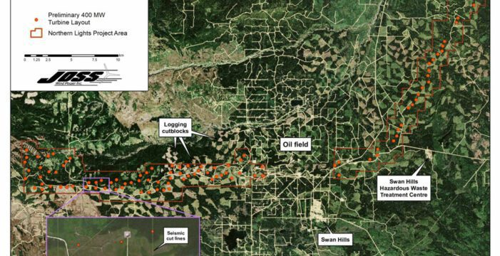 Proposed Wind Project By Swan Hills Gets County Support