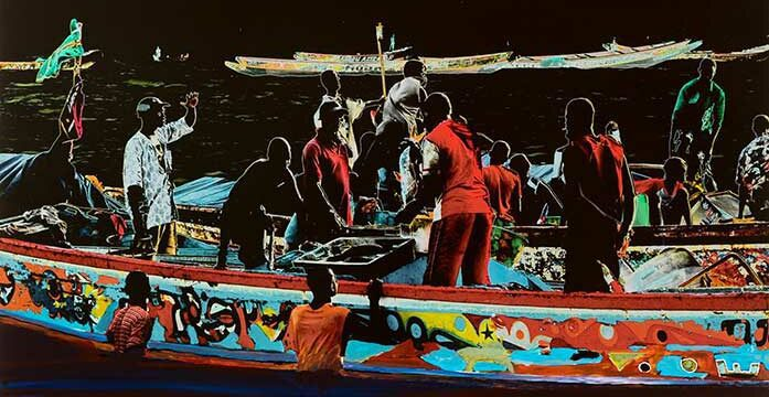 Quebec artist bears witness to Africa's climate migrants